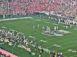 2013 Stanford Cardinal football team - Michigan State defeated Stanford in the Rose Bowl Game on January 1, 2014
