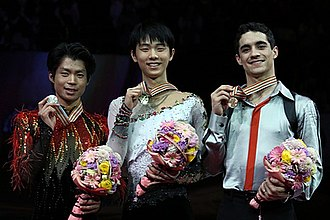 2014 World Figure Skating Championships - The men's medalists