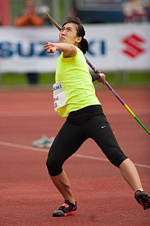 Lü Huihui Chinese javelin thrower