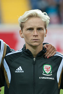 Jess Fishlock Welsh association football midfielder, three-time NWSL Best XI Midfielder