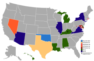 Miss USA Wikipedia - Fallout game map of us