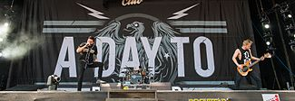 A Day to Remember bei Rock im Park (2015)