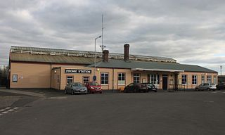 Frome railway station Frome, Mendip, Somerset, BA11