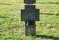 2017-09-28 GuentherZ Wien11 Zentralfriedhof Gruppe97 Soldatenfriedhof Wien (Zweiter Weltkrieg) (014).jpg