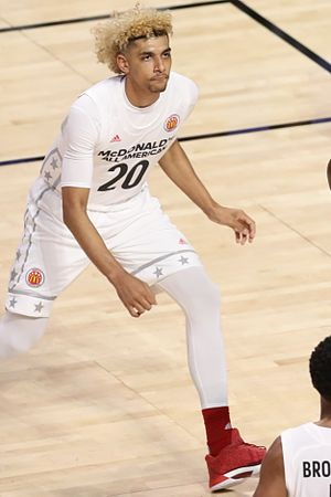 2017–18 Louisville Cardinals men's basketball team - Louisville recruit Brian Bowen at the 2017 McDonald's All-American Boys Game.