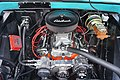 2017 Bois d'Arc Spring Car Show 61 (1966 Chevrolet C-10 engine).jpg