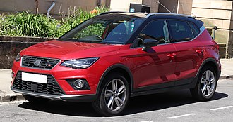 SEAT Arona - Image: 2017 SEAT Arona FR T Si 1.0 Front