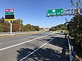 2018-10-30 12 29 59 View east along Virginia State Route 289 (Franconia-Springfield Parkway) at the exit for Virginia State Route 617 (Backlick Road) in Springfield, Fairfax County, Virginia.jpg