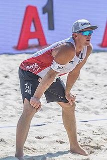 Jānis Šmēdiņš Latvian beach volleyball player