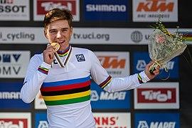 20180925 UCI Road World Championships Innsbruck Men Juniors ITT Remco Evenepoel (BEL) 850 8528.jpg