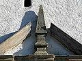 20181116115DR Colmnitz (Klingenberg) Dorfkirche Portal-Obelisk.jpg