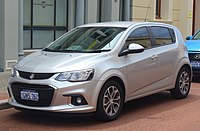 2018 Holden Barina (TM MY18) LS hatchback (2018-10-22) 01.jpg