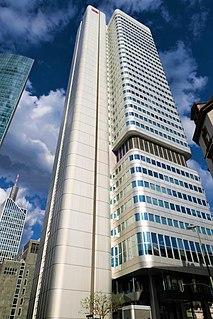 """Silver Tower"", skyscraper in Frankfurt, Germany"