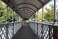 2018 at West St Leonards station - inside the footbridge.JPG