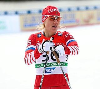 Natalya Matveyeva Russian cross-country skier