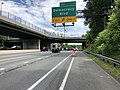2019-06-18 15 28 54 View south along Interstate 270 Spur at Exit 1 (Democracy Boulevard) along the edge of Potomac and North Bethesda in Montgomery County, Maryland.jpg