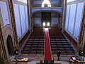 209 Santuari de la Misericòrdia (Canet de Mar), la nau des del cambril de la marededéu.JPG