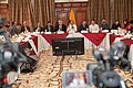 21-05-14- Quito Ecuador,Canciller Ricardo Patiño conversó con medios de comunicación sobre la universalización del SIDH y Día Internacional contra Chevron-7 (14237060422).jpg