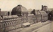 杜伊勒里宫东立面,面向卢浮宫广场