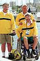 231000 - Sailing Jamie Dunross Noel Robins Graeme Martin portrait - 3b - 2000 Sydney candid photo.jpg
