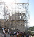 2499 - Athens - Temple of Athena Nike being restored - Photo by Giovanni Dall'Orto, Nov 11 2009.jpg