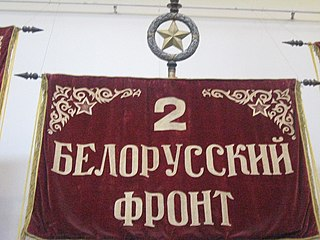 2nd Belorussian Front front