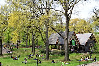 The Dairy building in Central Park, Manhattan, New York