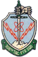 308th Tactical Fighter Squadron - 1960 - Emblem