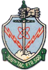 308th Tactical Fighter Squadron - 1960 - Emblem.png