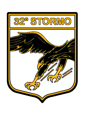 32nd Wing (Italy) - Wing patch
