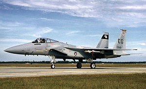Eglin Air Force Base - F-15C of the 33d Fighter Wing.