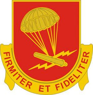 1st Battalion, 377th Field Artillery Regiment - Image: 377 FA Rgt DUI