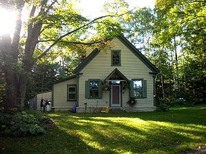 Peacham, Vermont - Image: 3cornersschoolhouse