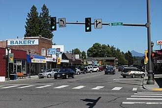 Marysville, Washington - 3rd Street in Downtown Marysville