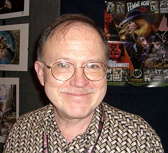 Joe Staton - Staton at the 2008 New York Comic Con.