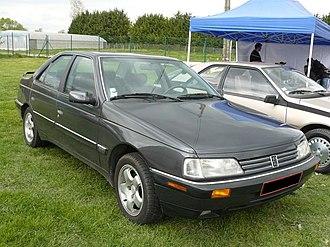 Peugeot 405 - Peugeot 405 Mi 16, USA version