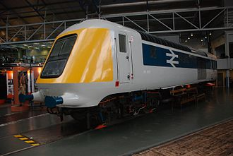 British Rail Class 41 (HST) - 41001 front view