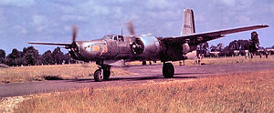 416th Air Expeditionary Wing - 416th Bombardment Group Douglas A-26 Invader, Laon/Athies Airfield (A-69), France, 1945