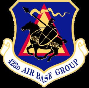 423d Air Base Group - Emblem of the 423 ABG
