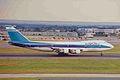 4X-AXC B747-258B El Al LHR 30JUN99 (6456269403).jpg
