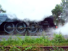 File:60163 Tornado in steam at Darlington.ogv
