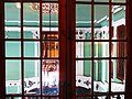 638 Casa Museu Benlliure (València), finestra que dóna al vestíbul.jpg