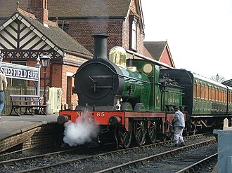 SER O class - Preserved No. 65 on the Bluebell Railway in Sussex.
