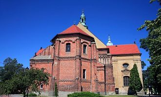 Łask - Collegiate Church of the Immaculate Conception of the Blessed Virgin Mary and Archangel Michael