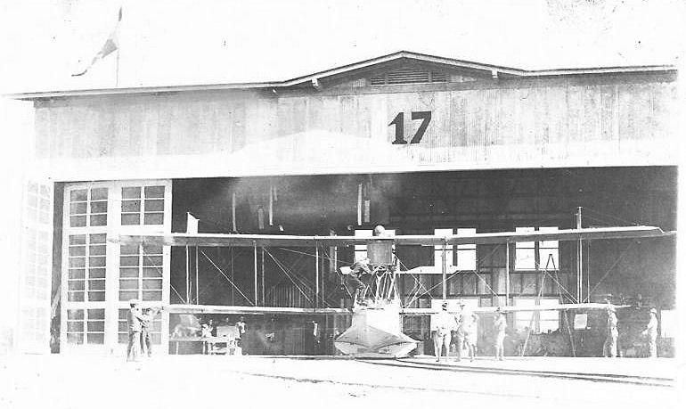 6th Aero Squadron Curtiss HS-2L