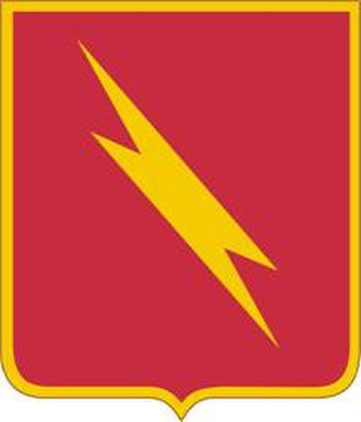 73rd Field Artillery Regiment - Image: 73 FA Rgt DUI