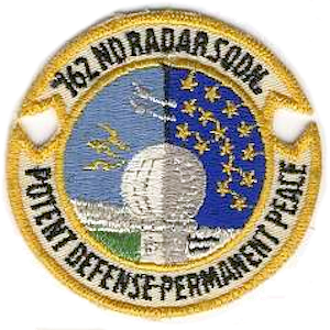 North Truro Air Force Station - 762d Radar Squadron emblem