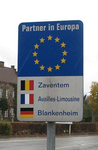 Zaventem - Zaventem's twin towns