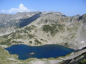 Vasilashki Lakes - The Tevno Lake.