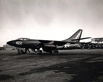 Douglas A-3 Skywarrior - A3D-1 at NAS Jacksonville, Florida in the 1950s